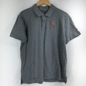 Nike L Texas Longhorns Gray Polo Shirt